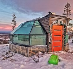 Saw the aurora while staying in this glass igloo in Finnish Lapland Aurora, See The Northern Lights, Travel Inspiration, Character Inspiration, Christmas Night, Outdoor Gear, Tent, Travel Photography, Vacation