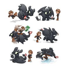 How NOT to train your Dragon T-Shirt :)