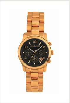 I am aware I have a watch fetish. I love this Michael Kors one but can't find it anywhere. :(