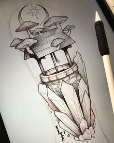 WEBSTA @ lucasferreiratattoo - Doodle for today