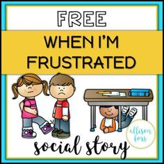 FREE Behavior Social Story FREE Behavior Social Story,Social Skills and Self Advocacy Behavior management: A social story mini-book on how to handle frustration with expected versus unexpected behaviors. A great way to discuss feelings. Social Skills Lessons, Teaching Social Skills, Coping Skills, Life Skills, Teaching Resources, Character Education Lessons, Social Skills Autism, Teaching Character, Social Stories Autism