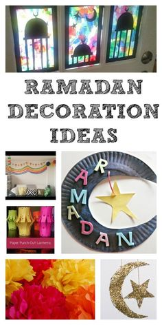 Ramadan Decorations and Calendars - In The Playroom
