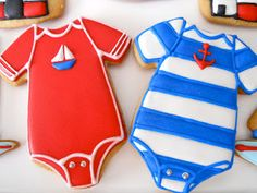 Nautical cookies by Oh, Sugar! Events .http:/...
