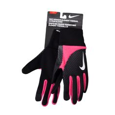 "NWT NIKE Therma-Fit /""Elite 2.0/"" Mens Run Gloves-Small Ret@$25 GREEN//VOLT"