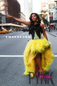 Angela Simmons-i would try for my birthday party!