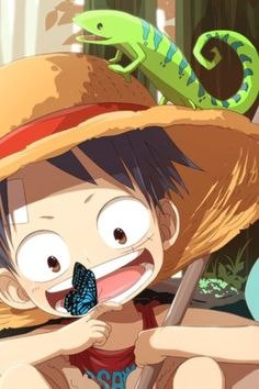 Monkey D. Luffy. One Piece