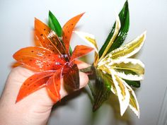 Gelatin Flowers together