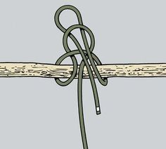 Knots: How to Tie the Highwayman's Hitch   Field & Stream