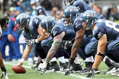 We have a mean looking offensive line. #favoriteseahawksphoto