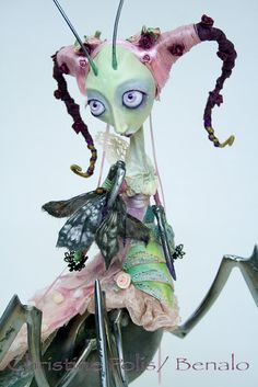 Stop Motion Doll by Christine Polis