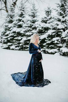 Baby Announcement Discover Sarah Velvet On Shoulders Navy Maternity Dress emerald green velvet maternity dress
