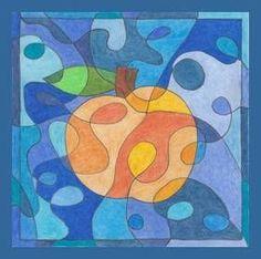 Jablko, hruška – čáry a barvy School Art Projects, Art School, Color Wheel Art, Art For Kids, Crafts For Kids, Apple Activities, Apple Art, Harvest Party, Art Lesson Plans