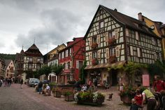 Kayserberg,France-the Mountain of the Emperor, attracts visitors because of its classic Alsace wine trail, so expect barrels of outstanding wines!