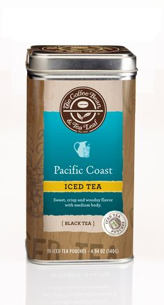 Concept: Limited Edition Tea Packaging for The Coffee Bean & TeaLeaf - The Dieline -