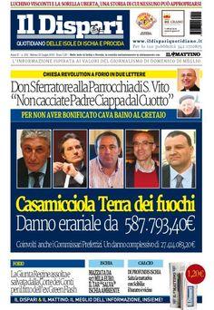 La copertina del 23 luglio 2016 #ischia #ildispari