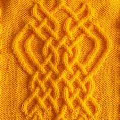 This is the pattern for very pretty cabled butterfly.