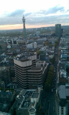 Oxford Street from Centre Point.