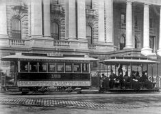 Collingwood and Clifton Hill tram in Victoria. Melbourne Tram, Melbourne Australia, Melbourne Victoria, Victoria Australia, Old Pictures, Old Photos, Van Diemen's Land, Clifton Hill, Houses Of Parliament