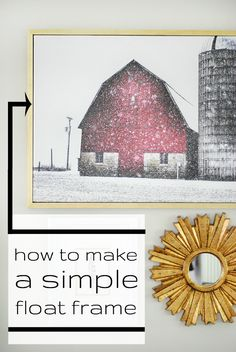 How to resize a thrift store picture frame by jenny komenda home diy custom frame for canvas art solutioingenieria Gallery
