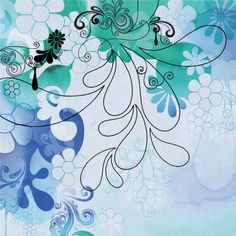 Jess Volinski- Illustration & Surface Design - Layered Loveliness - jessvolinski_fluidforms3_blue.jpg