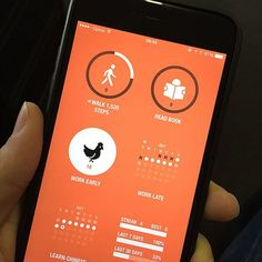 Streaks (free, iOS and potentially Android) is the perfect app for health and fitness goals.