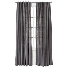 """$30/panel- Gray or Blue- These are light and """"airy""""...Threshold™ Natural Core Solid Window Panel"""