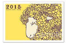 2015年賀状デザイン : 今年の年賀状デザインの参考にしたい!2015年賀状デザインまとめ【年賀状】 - NAVER まとめ
