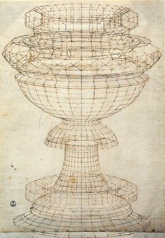 Paolo Uccello's study of a chalice (c. 1450-70)
