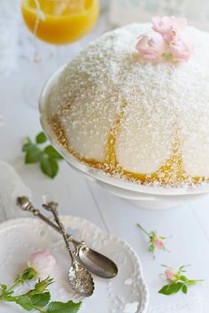 NARANCSOS - VANÍLIÁS PUDING ~ Panna Cotta, Sugar, Ethnic Recipes, Food, Hoods, Meals