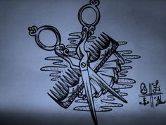 scissor tattoo sketch by ~ShellyZTrueheartInk on deviantART
