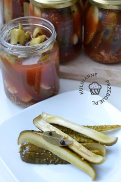 Ogórki w ketchupie na zimę - KulinarnePrzeboje.pl French Toast, Breakfast, Food, Morning Coffee, Essen, Meals, Yemek, Eten