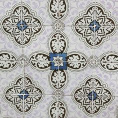 """Tile (or Azulejo) Pattern.  Azulejo comes from the Arab word azzelj or al zuleycha, which means """"small polished stone"""" referring to a ceramic piece, usually squared, with one size glazed. The Portuguese perfected the art and you can find """"azulejos"""" almost anywhere: surfaces, façades, walls, mural, and table tops, just to name a few. :-) #azulejos #patternedtiles #tilefacade #patterns #lisbon #lisbontailoredtours #lisbonwithpats"""
