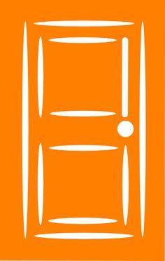 shut door Orange Door clip art vector clip art online royalty free & public Clip art Online art Art