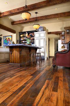 Recycled Wood - Settlers Plank Oak