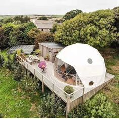 Glamping, Bubble Tent, Geodesic Dome Homes, Dome Greenhouse, Farm Holidays, Prefab Cabins, Dome Tent, Dome House, Small Backyard Pools