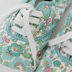 I love my french plimsoles - have been wearing them all summer.  Bensimon and Liberty fabrics did a special limited run on my old school yard favorites.