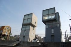 4×4 Houses/Tadao Ando