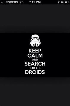 Looking for droids