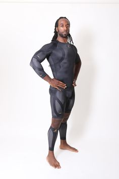 """""""You don't have to be injured to wear (Enerskin); it helps you be more in tune with your muscles."""" said Dwayne Moore. """"Because it's such great compression gear, I'm more in tune with my muscles. It's great for both prevention of injuries and performance enhancement."""""""