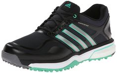 2aa99c50ecc6a4 adidas Womens W Adipower S Boost Golf Shoe BlackDark Silver MetallicBright  Green 8 M US   You can get additional details at the image link.