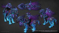 ArtStation - Abaddon: Anointed Armor of Ruination, Jeremy Klein