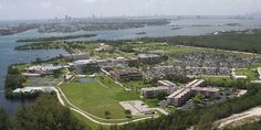 FIU - Florida International University, Biscayne Bay Campus, BBC. Our BBC campus has a student body of more than 7,000. Its scenic landscapes encompass 200 acres of land that connects directly to the Bay. FIU's Schools of Hospitality and Tourism Management, Marine Biology, and Journalism and Mass Communication are headquartered at BBC. (Biscayne Bay, Florida)