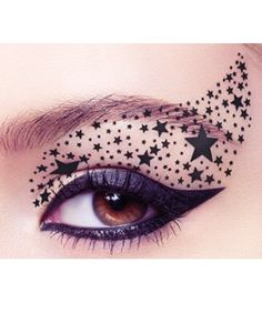 Eye Rock - Eye Tattoos - Black Stars