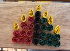 quilled kwanzaa candles Kwanzaa Craft More from my site Broccoli and Cheddar Twice-Baked Potatoes How To Make Water Candles Diy Kwanzaa Cards, Diy Kwanzaa Decorations, School Door Decorations, Holiday Ornaments, Holiday Crafts, Christmas Diy, Hanukkah Crafts, Hannukah, Holiday Ideas
