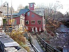 The one-of-a-kind Montague Bookmill in Montague MA: http://visitingnewengland.com/montague-bookmill.html #montaguebookmill