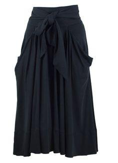 À vendre sur #vintedfrance ! http://www.vinted.fr/mode-femmes/jupes-longues/38354856-jupe-ondoyante-noir-sonia-rykiel