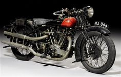 1928 Coventry Eagle Flying 8 - definitely NOT a Brough (but I think it is) Superior!