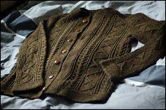 Ravelry: brooklyntweed's Saddle Shoulder Aran Cardigan