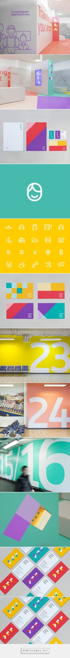 London Luton Airport Branding by Ico Design | Inspiration Grid | Design Inspiration - created via http://pinthemall.net