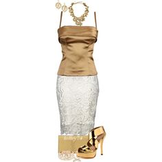 Good as Gold by kelley74 on Polyvore